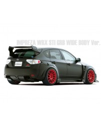 Varis Rear FRP Fender Kit Subaru STi GRB 08-16