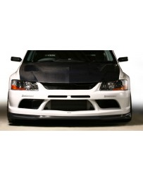 Varis Front FRP Bumper Version 2 Full Mitsubishi EVO CT9A '09 Ver 06-07