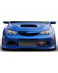 Varis Runduce Collaboration Collab Front FRP Bumper Subaru WRX GRB 08-16