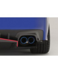 Varis Carbon Exhaust Heat Shields Subaru STi VAB 15-16