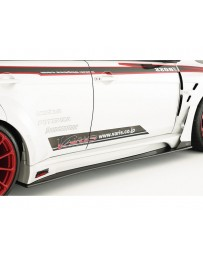 Varis Carbon Wide Body Side Air Panel Only Mitsubishi EVO X CZ4A 08-15