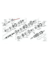 370z Nissan OEM Gear Main Drive Input Shaft