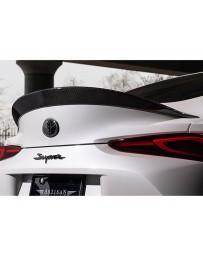 Artisan Spirits Black Label Carbon Fiber Rear Trunk Spoiler Toyota Supra A90 2020+