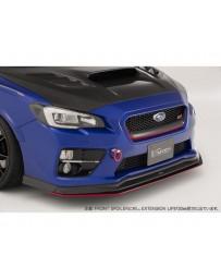 Varis Optional FRP Extension Lip for FrontSpoiler Subaru STi VAB 15-16