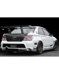 Varis Rear Carbon Diffuser Subaru STi GDB C-D-E 02-15