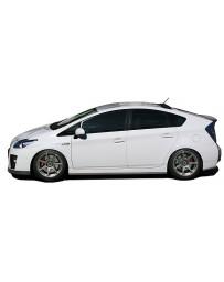 ChargeSpeed Bottom Line Full Lip Kit Carbon (Japanese CFRP) CS820FLC, CS820SSC, CS820RCC Toyota Prius 10-11
