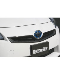 ChargeSpeed Front Grill Cowl Carbon (Japanese CFRP) Toyota Prius 10-11