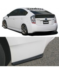 ChargeSpeed Bottom Line Rear Caps FRP (Japanese FRP) Toyota Prius 10-15