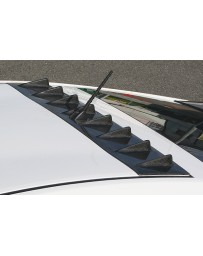 ChargeSpeed Roof Fin FRP (Japanese FRP) Toyota Prius 10-15
