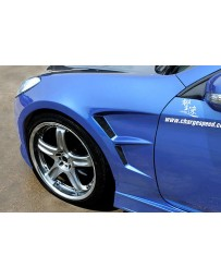 ChargeSpeed Front Fenders (Japanese FRP) Hyundai Genesis Coupe 09-12