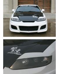 ChargeSpeed Eye Lids (Japanese FRP) Hyundai Tiburon GK Coupe 03-06