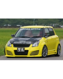ChargeSpeed Front Bumper FRP (Japanese FRP) Suzuki Swift Sport Model Z31S 04-10