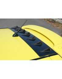 ChargeSpeed Roof Fin Carbon (Japanese CFRP) Suzuki Swift Sport Model Z31S 04-10