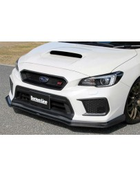 ChargeSpeed Type1 Bottom Line Carbon Front Lip Subaru WRX STi 18-19