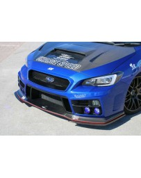 ChargeSpeed Type-1A Front Bumper w/Carbon Under Part Subaru WRX STi 15-18