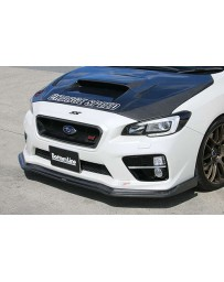 ChargeSpeed Type-2 Bottom Line Carbon Front Lip Subaru WRX STi 15-17