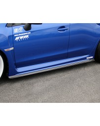 ChargeSpeed Carbon T1 Side Skirts Subaru WRX STI 15-17