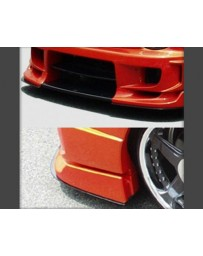 ChargeSpeed Carbon Under Plates for Wide Body Front Bumper Subaru Impreza GD-B 02-05