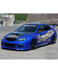 ChargeSpeed Super GT Wide Body Kit Subaru WRX Sedan 11-14