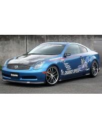 ChargeSpeed Bottom Line FRP Full Lip Kit Infiniti G35 Coupe 03-05