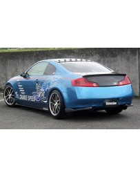 ChargeSpeed Bottom Line Carbon Full Lip Kit Infiniti G35 Coupe 03-05