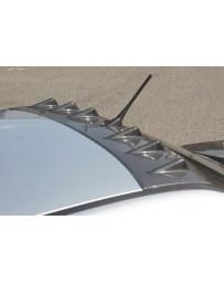 ChargeSpeed FRP Roof Fin w/ Antenna Hole Mitsubishi EVO VIII IX 03-07