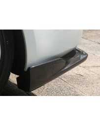 ChargeSpeed Bottom Line FRP Rear Lip Caps Nissan 350Z 03-08