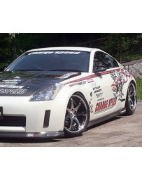 ChargeSpeed Bottom Line FRP Full Lip Kit Nissan 350Z Zenki 03-05