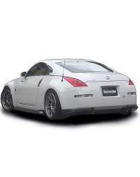 ChargeSpeed Bottom Line Carbon Full Lip Kit Nissan 350Z Kouki 06-08