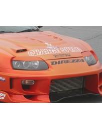 ChargeSpeed FRP Eyelids Toyota Supra JZA80 93-98