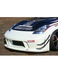 ChargeSpeed Long Nose Type Front Bumper Nissan 350Z 03-08