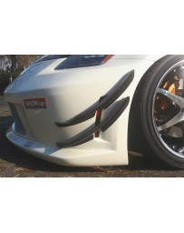 ChargeSpeed FRP Upper Canards Nissan 350Z 03-08