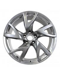 370z Nissan OEM Wheel, 19x9 Hyper Silver