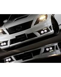 Artisan Spirits Verse High-Spec Line Carbon Front Lip Spoiler Lexus LS600hL 10-11