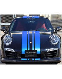 Artisan Spirits Sports Line Black Label O.F.K. Edition Carbon Front Lip Spoiler Porsche 911 Turbo S 17-19