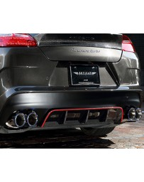 Artisan Spirits Sports Line ARS Carbon Rear Bumper Kit Porsche Panamera 10-13