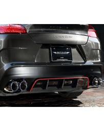 Artisan Spirits Sports Line ARS Carbon Rear Bumper Kit Porsche Panamera 10-13