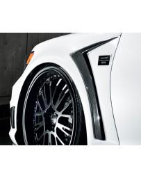 Artisan Spirits Carbon Fiber Sports Full Fender Set Lexus LS600h 10-11