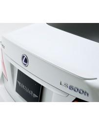 Artisan Spirits High-Spec Line Rear Spoiler Lexus LS600h 10-11