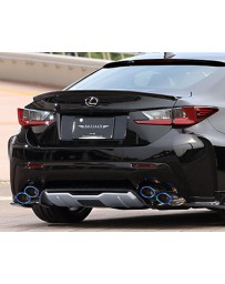 Artisan Spirits Black Label Stainless Steel Titanium Tipped Dual Exhaust System Lexus RC-F 15-17