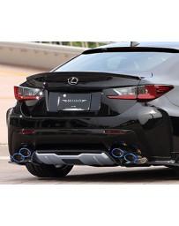 Artisan Spirits Black Label Full Titanium Dual Exhaust System Lexus RC-F 15-17