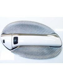 Artisan Spirits Silver Carbon Fiber Door Handle Covers Mercedes-Benz SL550 07-08