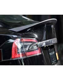 Artisan Spirits Carbon Fiber Rear Trunk Spoiler Tesla Model S 13-19