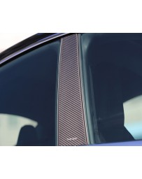Artisan Spirits Carbon Fiber Pillar Covers Tesla Model S 13-19