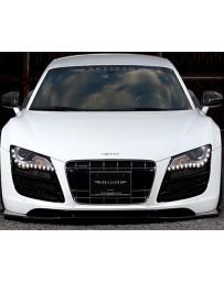 Artisan Spirits Front Lip Carbon Fiber Audi R8 06-14