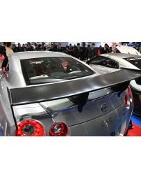 Top Secret Nissan R35 GT-R GT Wing ST2 High Mount Specification