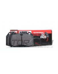 350z DE Hawk Performance Street 5.0 Brake Pads, Front with Non-Brembo Calipers