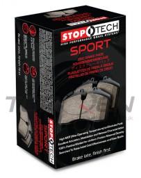 350z Stoptech Street Performance Brake Pads, Rear, Non-Brembo