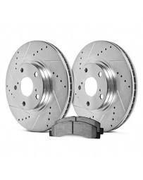 Toyota GT86 Hawk Sector 27 Rear Rotors and PC Pads Kit Scion