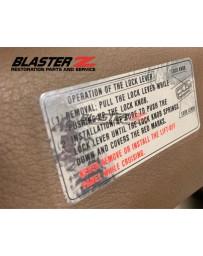 300ZX Z32 Blaster Z Interior Decal Kit 1990-1995